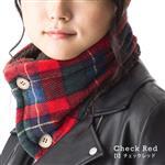 日本(QUEENHEAD)   即暖抗寒保暖圍脖-蘇格蘭風
