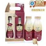 【Caprina肯拿士】新鮮山羊奶經典原味泡澡沐浴乳禮盒 800ml x 2瓶