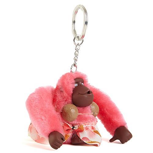KIPLING 熱帶風猴子吊飾鑰匙圈 (現貨+預購)