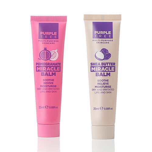 英國紫樹神奇萬用膏-石榴x1(25ml)+乳木果x1(25ml)