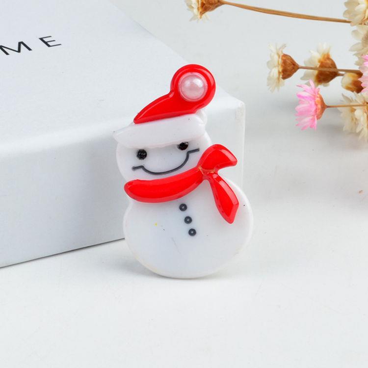 聖誕雪人髮夾/瀏海夾/邊夾