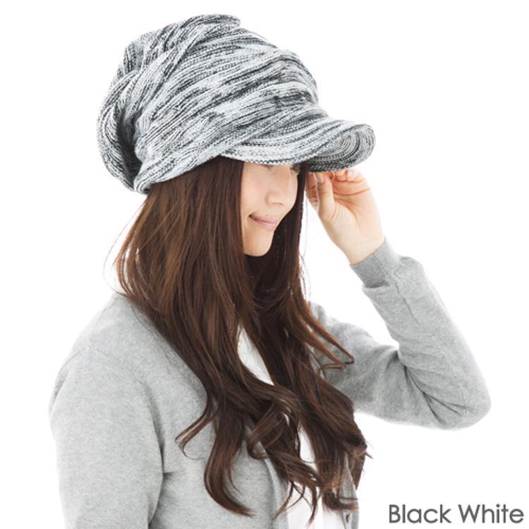 日本(QUEEN-HEAD)抗寒二重保暖設計時尚針織帽