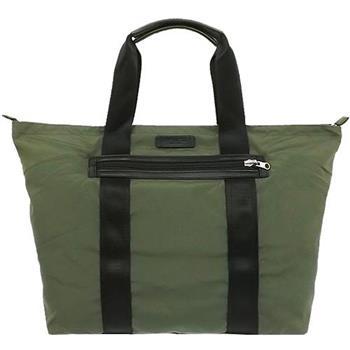 COACH 尼龍摺疊式托特包-墨綠色(現貨+預購)