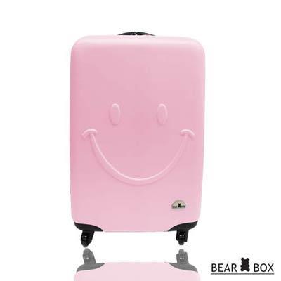 BEAR BOX 一見你就笑ABS 輕硬殼行李箱28吋