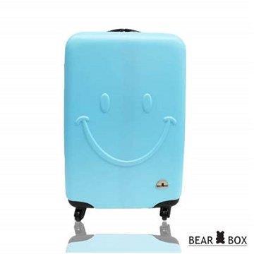 BEAR BOX 一見你就笑ABS 輕硬殼行李箱20吋
