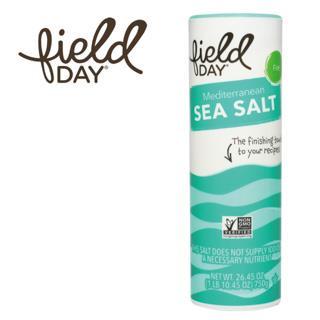 《踏青日》地中海天然細海鹽 (二瓶  26.5oz./瓶)