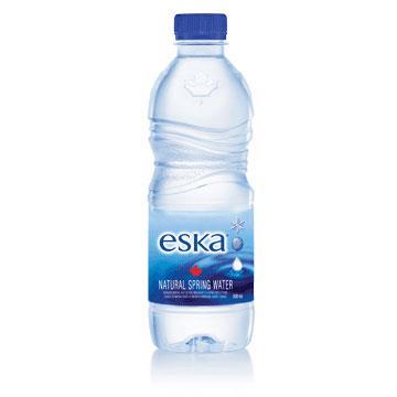 加拿大eska愛斯卡天然冰川水 輕量瓶 500mlx24瓶 (箱)