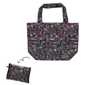 San-X 憂傷馬戲團經典帆布摺疊購物袋