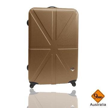 Gate9英倫系列ABS輕硬殼行李箱24吋