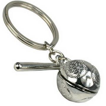 【藏傳佛教文物】銀木魚鑰匙圈 吊飾(PB-N00033)