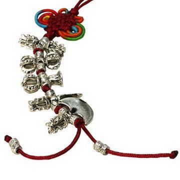 【藏傳佛教文物】法器總集吊墜 護身符 飾品(PB-N00028)