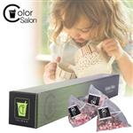 【Color Salon Tea】玫瑰綠茶(3g 12包/盒)