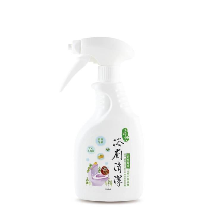【木酢達人】木酢浴廁清潔劑350ml.不含強酸,弱酸性配方【#30703】