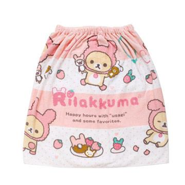 San-X 懶熊兔兔兒童浴袍。60x125cm