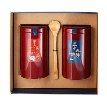 《好客-39號北埔擂茶》兩罐裝(300克擂茶粉+東方美人茶2兩)_A003018