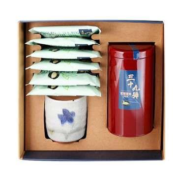 《好客-39號北埔擂茶》一罐裝+6包隨身包+1個陶杯_A003017
