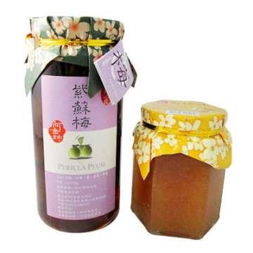 《好客-阿金姐》紫蘇梅(550g)+香桔汁(350g)_A007009