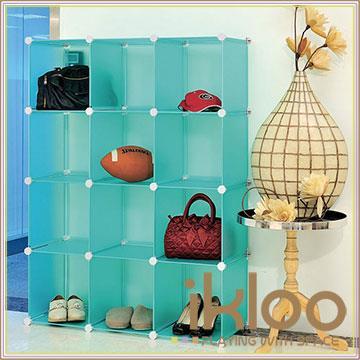 【ikloo】diy家具12格收納櫃/組合櫃