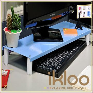 【ikloo】省空間桌上鍵盤架/螢幕架