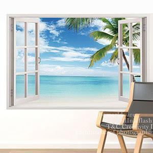 Christine景觀窗貼/壁貼/居家佈置 窗型A (B014)