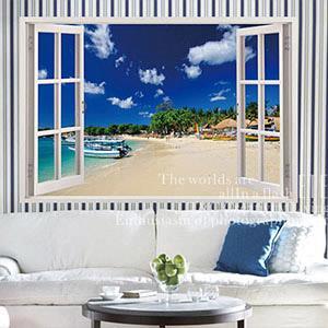 Christine景觀窗貼/壁貼/居家佈置 窗型A (B032)
