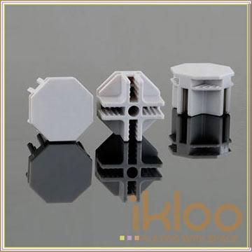 【ikloo】12吋百變收納櫃延伸配件-接頭10入一組