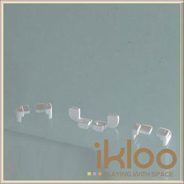 【ikloo】12吋百變收納櫃延伸配件-門扣10入一組