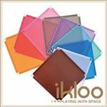 【ikloo】12吋收納櫃延伸 -版子1片 九色