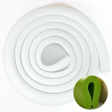 【虎兒寶】居家安全包覆防撞條【U 型】(200CM**1入-白色)