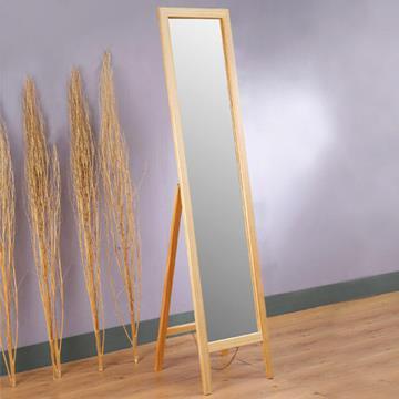 YoStyle 自然原味松木穿衣鏡