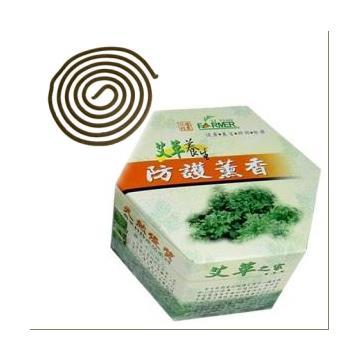 《艾草之家嚴選》艾草養生防護薰香環保包(艾草蚊香)**2盒