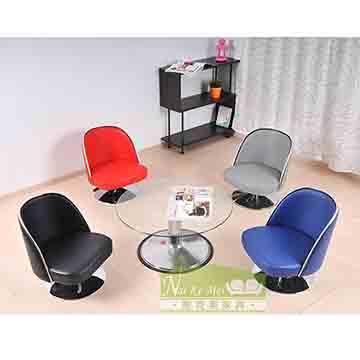 NaiKeMei-耐克美-微笑旋轉和室椅/咖啡椅*1
