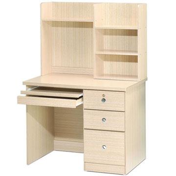 YoStyle  好學生電腦書桌(白橡木色)