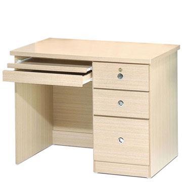 YoStyle  好學生電腦桌(白橡木色)