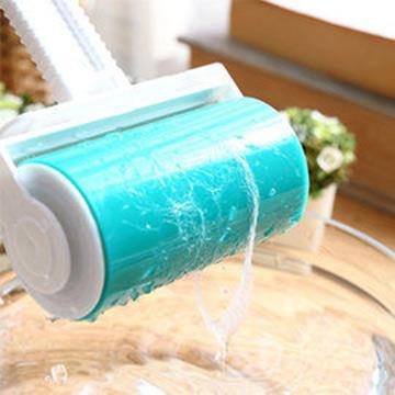 《魔特萊Motely》環保日式萬用黏巴達自黏除塵滾筒〈1大隨手即可黏〉