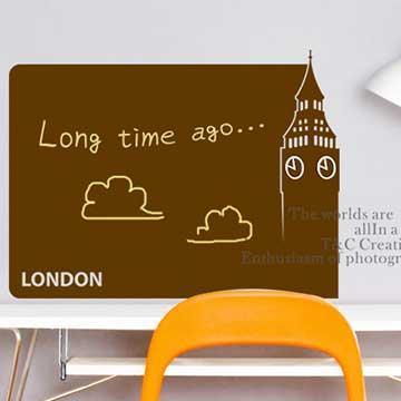 Christine創意DIY塗鴉壁貼 / 留言貼 / BK026 浪漫倫敦