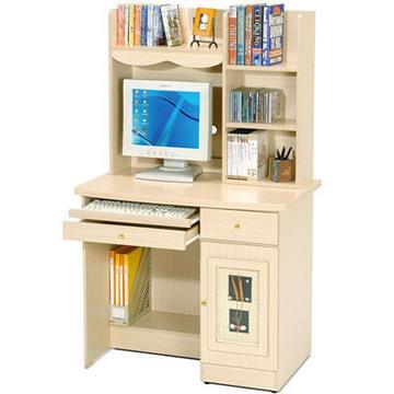 YoStyle  自然風味電腦書桌(白橡木紋)