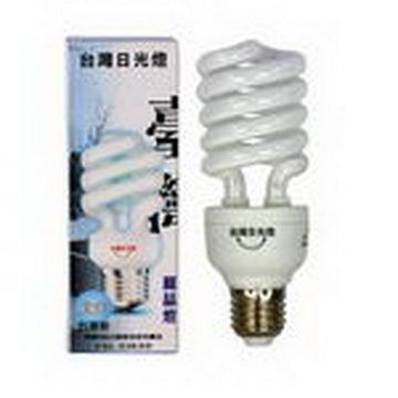 台光 23W 110V E27型螺旋省電燈泡(白光)-6入