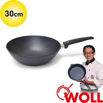 德國 WOLL 藍寶石輕巧系列 30cm中華鍋 (不含鍋蓋)