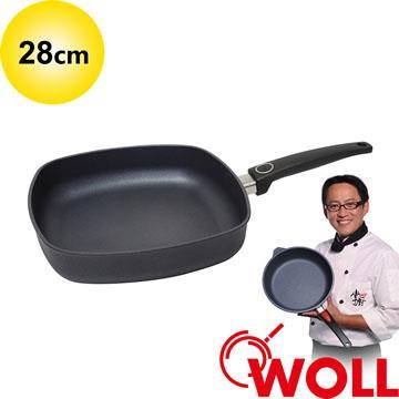 德國 WOLL 藍寶石輕巧系列 28cm方形深鍋 (不含鍋蓋)