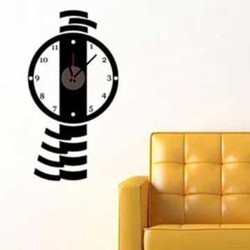 Christine時尚壁貼鐘/壁鐘/牆貼 CL010 簡約時尚