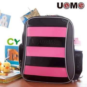 【UnMe】雙層蜂式後背蜂書包/粉紅色