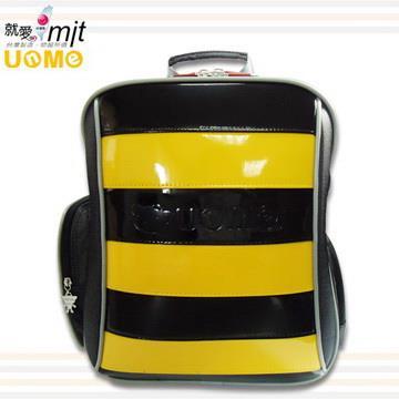 【UnMe】雙層蜂式後背蜂書包/黃色