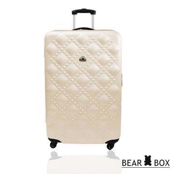 BEAR BOX 香奈系列ABS輕硬殼旅行箱20吋
