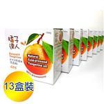 《橘子達人》天然冷壓橘子精油洗衣粉組_700g±10g(每盒)/共13盒