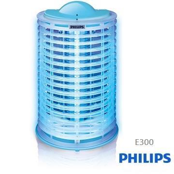 PHILIPS飛利浦15W光觸媒電擊式捕蚊燈 E300