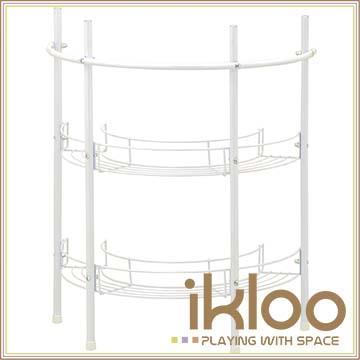 【ikloo】洗手台收納架