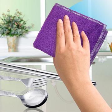 【JoyLife】台灣製油切雙面竹纖清潔巾-超值5入
