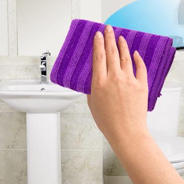【JoyLife】台灣製特殊雙料強效頑垢清潔刷巾-超值6入