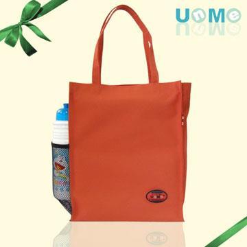 【UnMe】直式多功能手提袋/橘紅